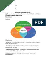 Corrige Type- Examen Management Integre Des Ressources en Eau - m2