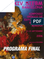 XIV SIEBM Barcelona2006