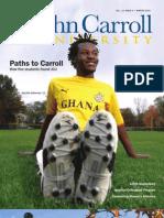 John Carroll University Magazine Winter 2010