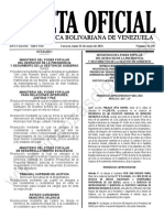 Gaceta Oficial N°42.138