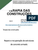 TERAPIA DAS CONSTRUCOES - Aula 5.1 - Tratamento de fissuras
