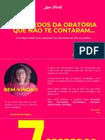 E-book_7 Segredos Da Oratória