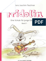 Fridolin Metodo chitarra