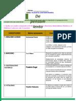 9º DESARROLLAR  TALLER (actividad  Nº 01) - FILOSOFÍA CONTEMPORANEA - (1)