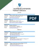 National Conferences