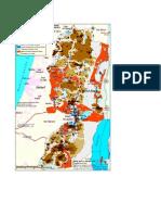 Les blocs de colonies en Cisjordanie