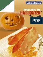 Recetario de Halloween