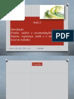 Aula - 2 - Estudo, Analise e recomendacoes de SSA