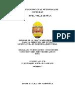 informe práctica empresa Icce por Ing.David Aguilar