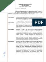 Orden Ejecutiva  (OE 2021- 043)