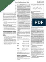 Euchner Einzelgrenztaster N1A de GB FR IT