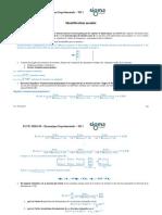 ECUE MMS S9 de DM TD1 Elements Corrige