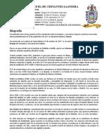 BIOGRAFIA - MIGUEL DE CERVANTES SAAVEDRA