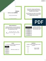 4- Média, moda, mediana. Histograma. Tabelas e gráficos.