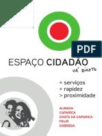brochura Espaço cidadão