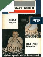Revista Ajedrez 6000 060 Skopie Karpov