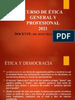 ÉTICA Y DEMOCRACIA