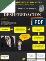 DESHEREDACION FINAL