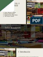 Sector textil y confecciones
