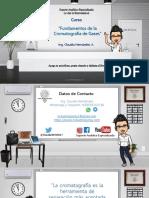 Fundamentos de Cromatografia de Gases 2021,Ing. Claudia Hernández A.