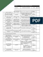 Check List Comite Paritario de Higiene y Seguridad