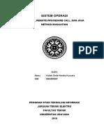 Socket, RPC dan RMI