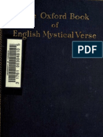 Oxford Book of English Mystical Verse, Chosen by D. H. S. Nicholson and a. H. E. Lee.