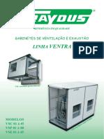 Traydus - Catálogo Caixa Ventilação - Ventra - PT2009