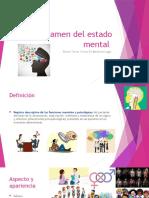Examen mental Medicina del trabajo