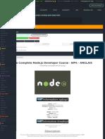 télécharger [udemy] the complete node.js developer course 2019 web 720p - yggtorrent