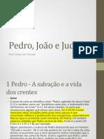 Pedro, João e Judas