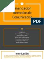 Financiacion de los Medios de Comunicación