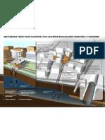 Système de chauffage à partir des eaux usées pour l'éco-quartier Boule/Sainte-Geneviève de Nanterre