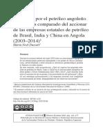 La carrera por el petróleo angoleño