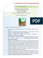 Planificación de La Mediación Lectora Con Diversos Recursos - COMUNICACIÓN en ACCIÓN-Rode Huillca Mosquera