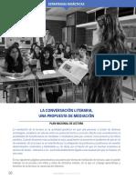 Estrategia de Mediación Literaria-La Conversación Literaria-COMUNICACIÓN en ACCIÓN-RHM