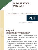 INSTRUMENTALIDADE DO SERVIÇO SOCIAL - YOLANDA GUERRA
