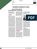 Uniurb premia i suoi migliori studenti - Il Corriere Adriatico del 28 maggio 2021