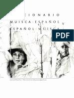 Diccionario Muisca Español, Español Muisca