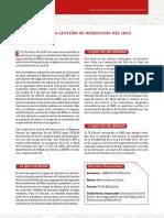 REPP 2020 SUPERVISION DE LA GESTION DE BENEFICIOS DEL INSS