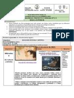 FICHA CURRICULAR  - ECA - 9no A-B..PROYECTO 5 -SEMANA 2-3