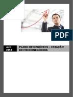 MANUAL_7854_Plano de Negócios - Criação de Micronegócios