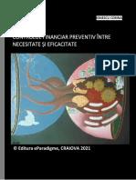 Corina Ionescu, Controlul financiar preventiv între necesitate și eficacitate