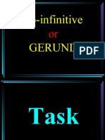 GERUND and to-infinitive