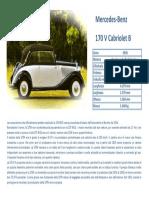 mercedes 170v cabrio