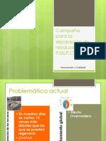 Campaña concientización en el ITSSLP,C
