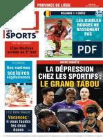 Journal La Derniere Heure-Liege-04!06!2021