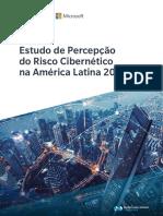 Estudo de Percepcao de Riscos Ciberneticos 2019 Brasil