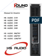 Amplificador_HS Audio 300-70V