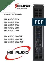 Amplificador_HS Audio 300-70V